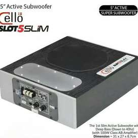 READY Woofer Aktif CELLO speaker bawah kursi. Suara di jamin MANTUL