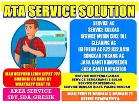 service,cuci ac/service mesin cuci 1 tabung pekauman sidoarjo