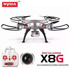 Syma X8G with 8MP 1080P HD Wide Angle Camera 6 Axis Quadcopter Drone