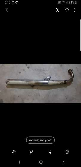 RX 100 SILENCER WHICH IS IN MINT CONDITION