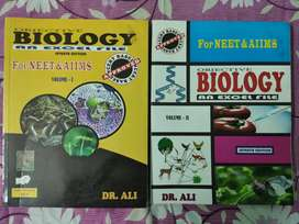 Objective Biology (Vol I and II) by Dr. Ali