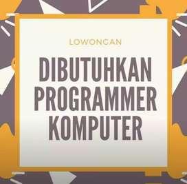 Dibutuhkan programer komputer