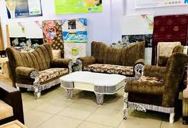 7 seater antique sofa set