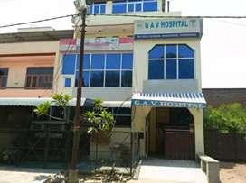 Hospital for rent in basant vihar kanpur