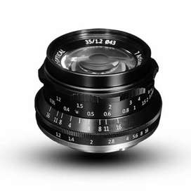 Lensa 7artisans 35mm f1.2 for canon sony fuji