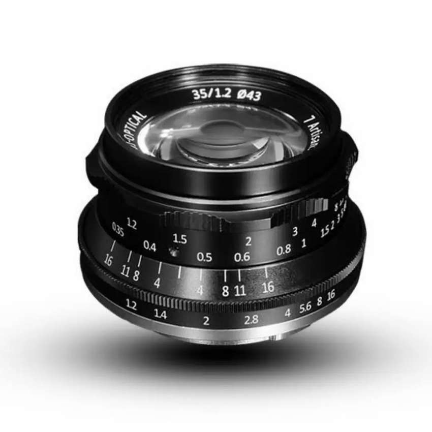 Lensa 7artisans 35mm f1.2 for canon sony fuji 0
