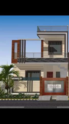 140 Yard Under Construction House For Sale In Best Location