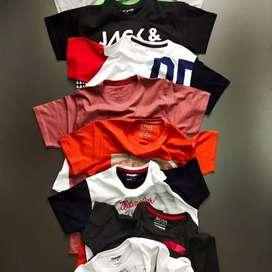 Branded  Round Neck T-shirts