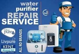Leading water purifier service technician