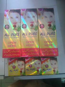 ALL PURE  BEAUTY CREAM (220 RS PER CREAM)