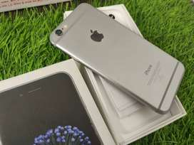 Apple Iphone 6 16GB Silver Only Rs - 8000