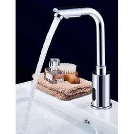 ANGK 7 KRAN WASTAFEL OTOMATIS MALL HOTEL AUTOMATIC WATER FAUCET SENSOR