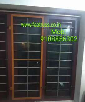 Mosquito net SS COATED attached windows