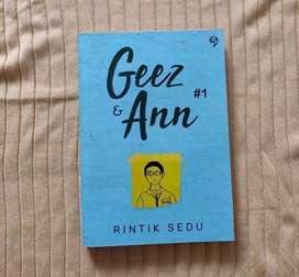 NOVEL MURAH ORIGINAL GEEZ & ANN