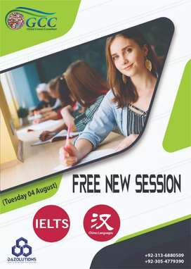 Free IELTS & Chinese language classes
