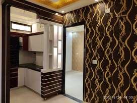 2 Bhk builders floor with modular kitchen luxury flat