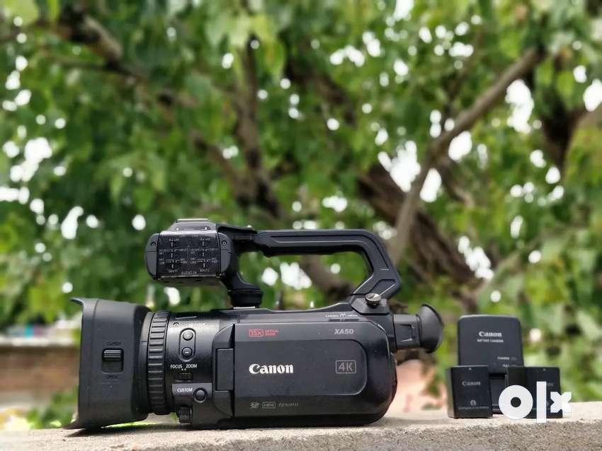 Canon xa50 video camera for sale