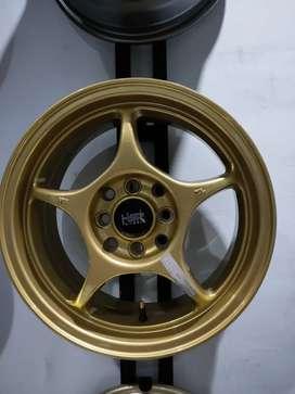 Velg Pelak Mobil Import Murah Enkei Tulang Gold, Brio, Swift,avanza