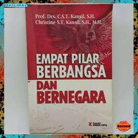 Empat Pilar Berbangsa Dan Bernegara | Buku Pollitik Indonesia Original