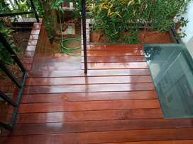 Wooden Flooring for Interior and Exterior