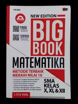 PRELOVED BUKU BIG BOOK MATEMATIKA (TIM BBM)