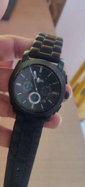 Fossil Black Watch
