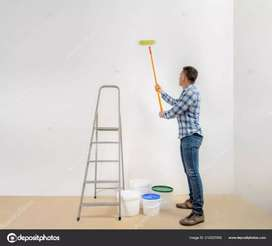 Wall paint contracter lappam pop all work available