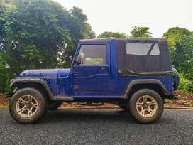 Mahindra MM550 jeep with a/c