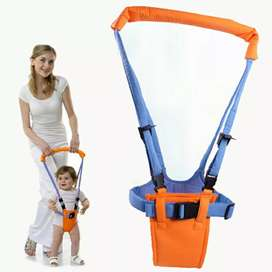 Alat Latihan Jalan Bayi Baby Moon Walker Assistant Harnesses - Orange