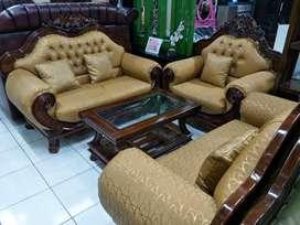 Set Sofa Tamu Jati