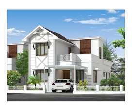 modern elegant villas available at chelavoor