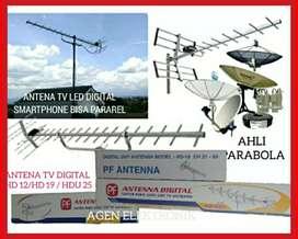 Ahli pasang baru parabola dan antena TV digital