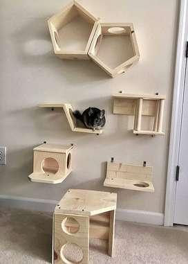 Rumah Kucing dan Garukan