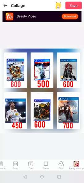 PS4 Games- JUST CAUSE,BLOODBORNE, FIFA18, INFAMOUS, KILLZONE, BATTLE 1