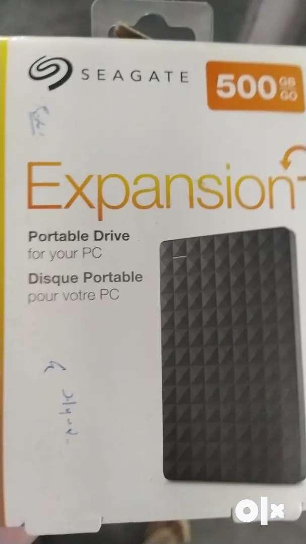 Seagate 500GB external hard disk