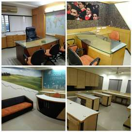 # Fully furnished office in Alkapuri