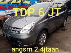 Nissan grand livina XV 1.5 AT 2009 antik istmwa tdp6jt angsrn 2.4jtaan