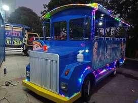 kereta wisata odong2 mobil pancingan air fiber plat L05