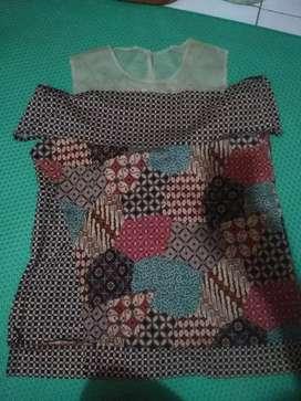 Baju batik xxl wanita masa kini best seller
