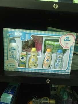 Mu baby gift box murah