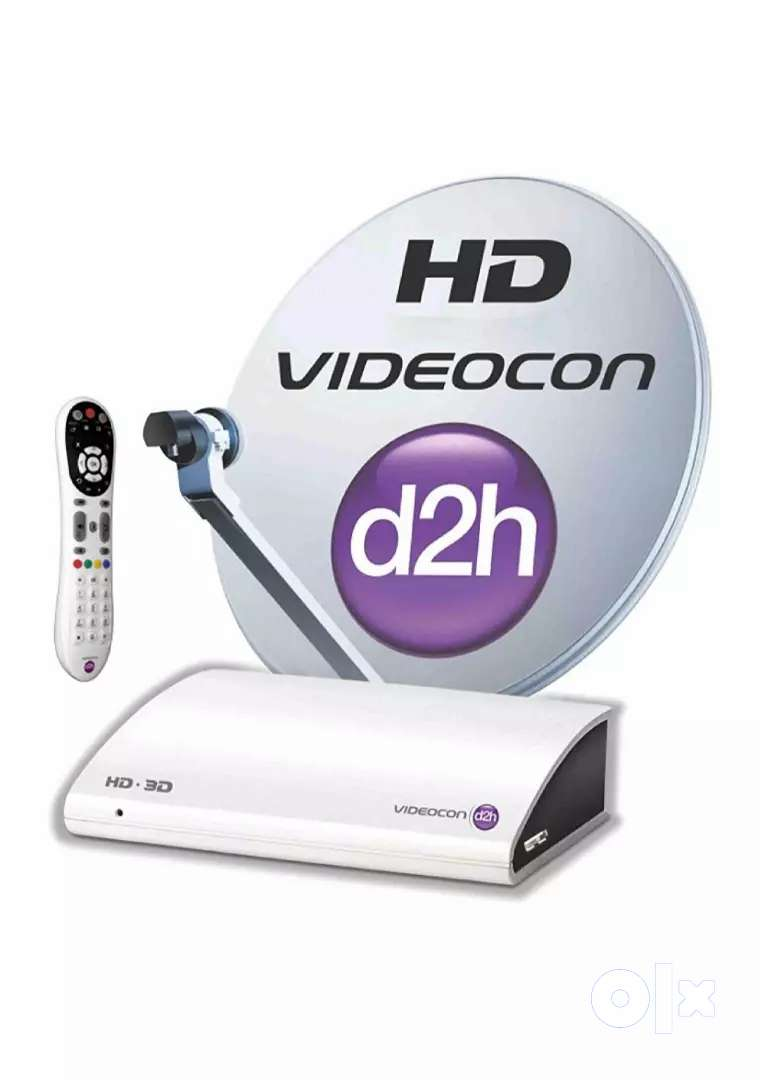 Videocon D2h HD Set of box with dish 0