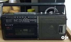 Sony Radio Cassette-Corder/FM/AM Player,Vintage(1989)-Perfect Working