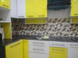 3bhk with modular kitchen & great interior