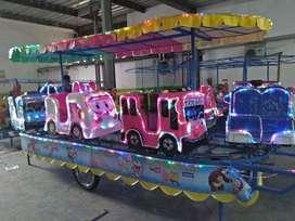 kereta panggung robocar bebek fiber odong