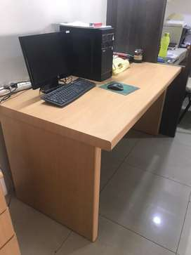Office Table and Cupboard
