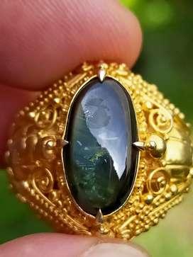 Bangsing nawaratna black sapphire