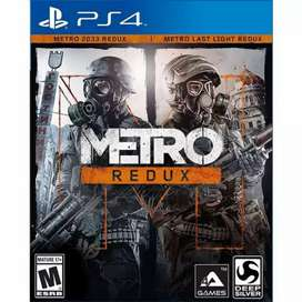metro redux/2033/last light/bd ps4/PlayStation/game/PlayStation 4/ps 4