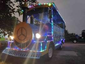 kereta jalan odong odong mobil wisata bebas design ER