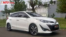 Toyota All New Yaris TRD Sportivo Facelift 2019 Km 8Rb Tdk Jd Pkai!!!