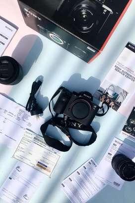 Sony A7II + kit lens MURAH Lengkap (SOLD)